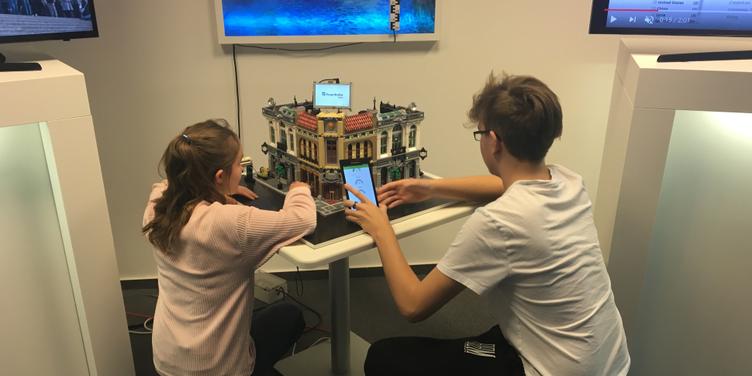 SchülerpraktikantInnen bei Fraunhofer FOKUS