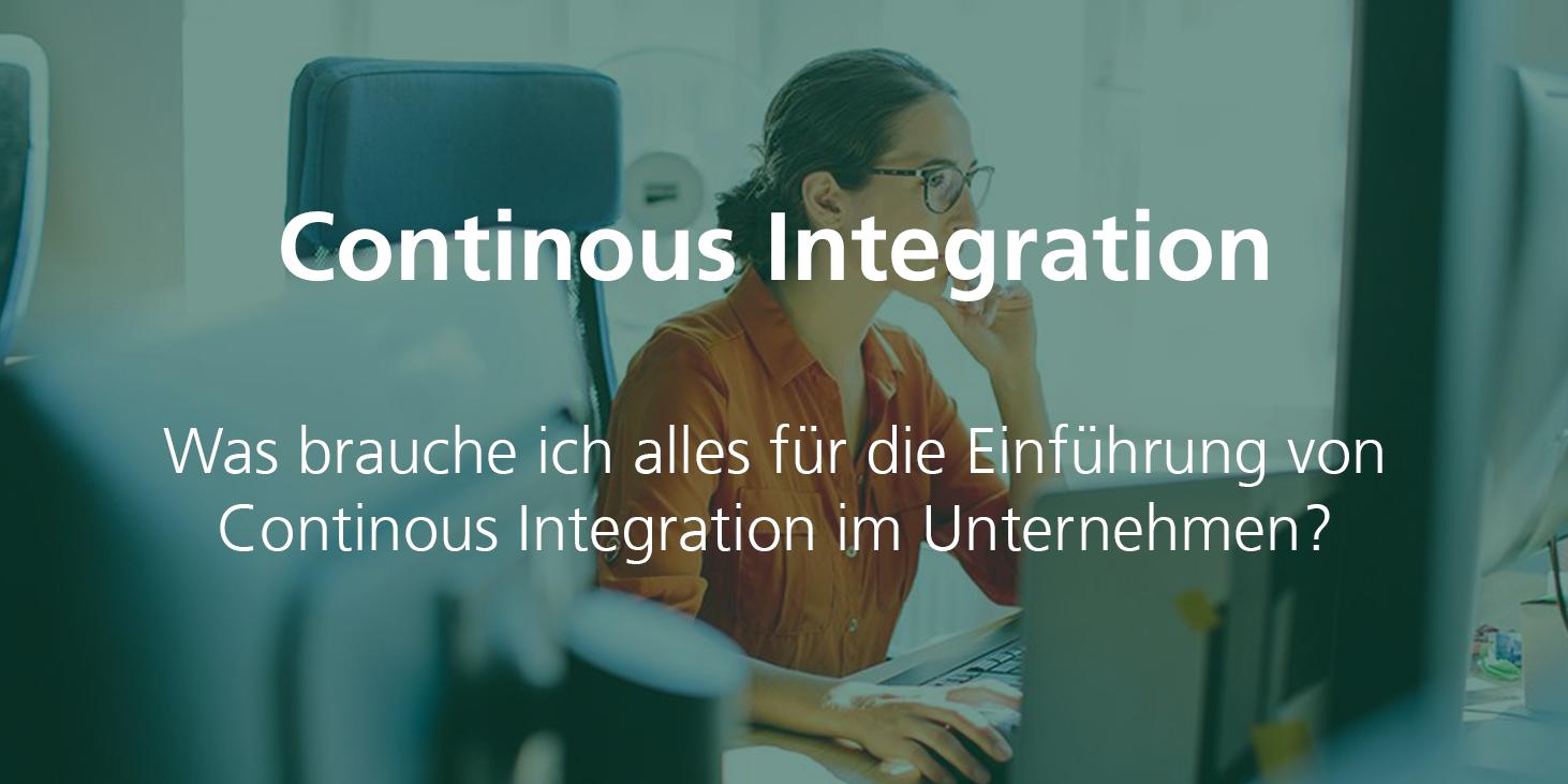 Lernwoche Continuous Integration