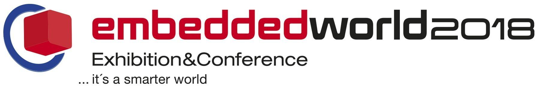 embedded world 2018 Logo (schmal)