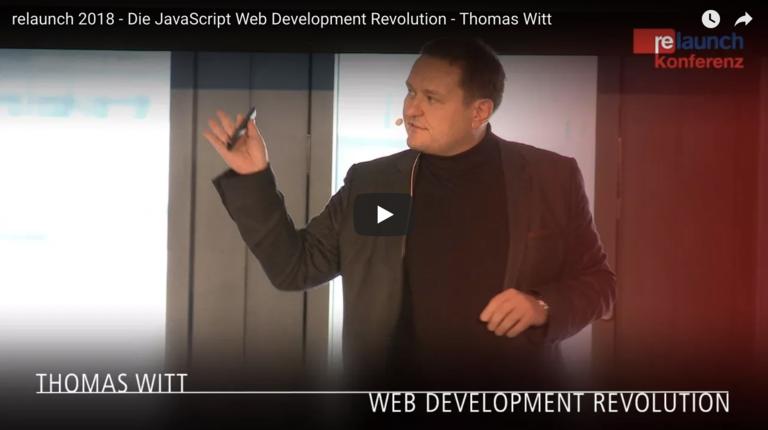 Die JavaScript Web Development Revolution