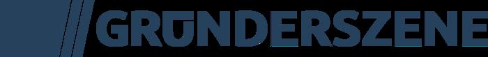 Gruenderszene Logo CMYK 4c blue