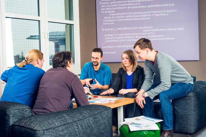 infopark 2017 meeting team