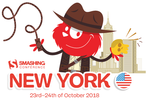 smashingconf new york indiana jones logo