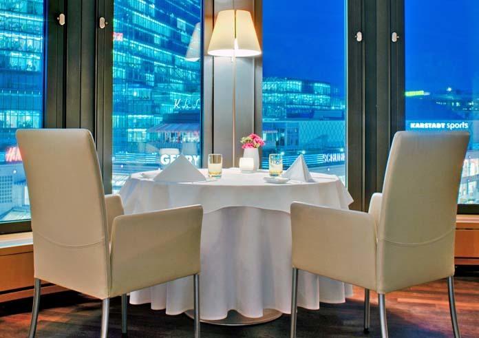 Swissotel Berlin Dinner