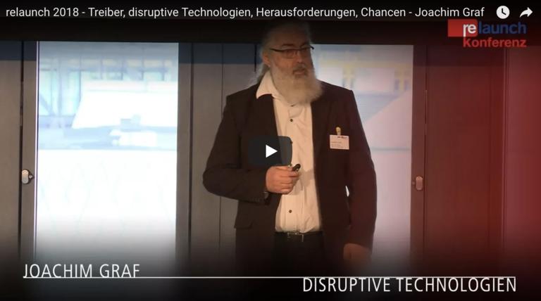 Treiber, disruptive Technologien, Herausforderungen, Chancen
