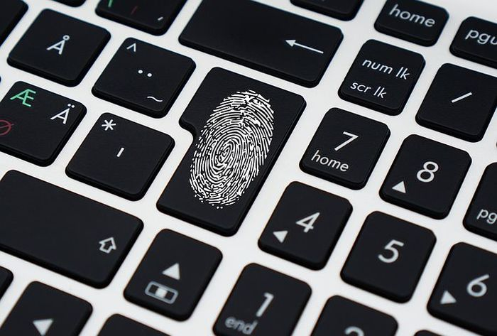 data fingerprint password
