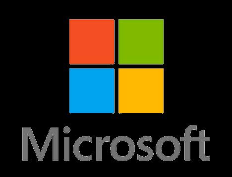Microsoft Logo PNG Transparent Image
