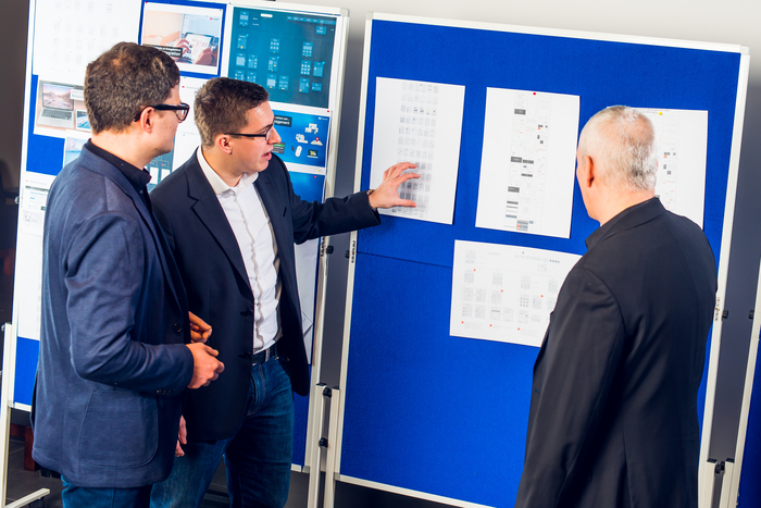 infopark 2017 meeting board