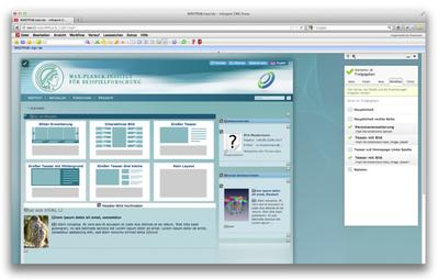 With this relaunch the Max Planck Society has now been working with the Infopark CMS for ten years.