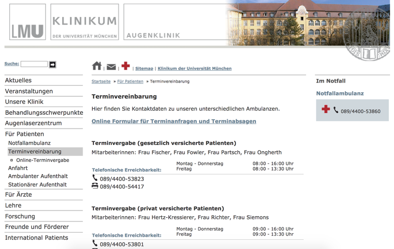 Website- und Applikationsentwicklung