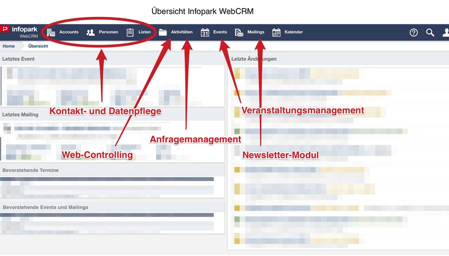 screenshot infopark webcrm