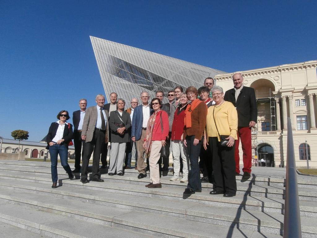 Besuch des militärhistorischen Museums in Dresden