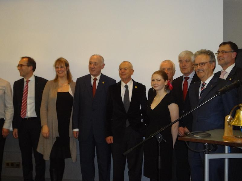 Feier zum 10-jährigen Bestehen der Stiftung des Rotary Clubs Berlin-Süd