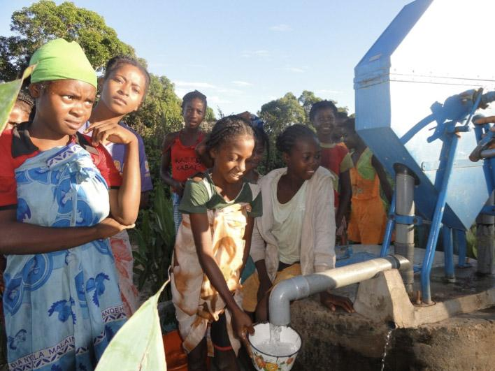 Wasserversorgung inMadagaskar