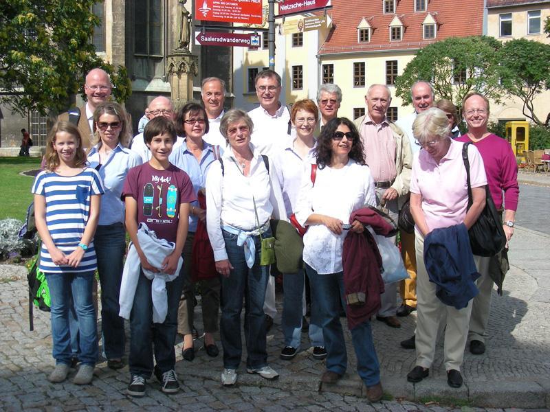 Clubausfug nach Naumburg