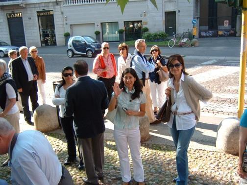 Besuch in Mailand