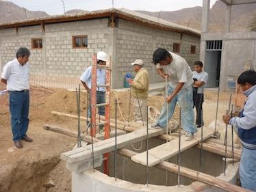 Wasserprojekt in Saltur, Peru