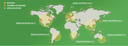 World map showing CDN edge locations