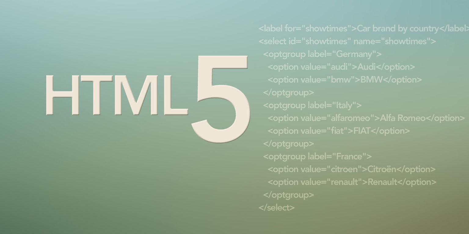 Obscure HTML 5 Features That May Make Your Day