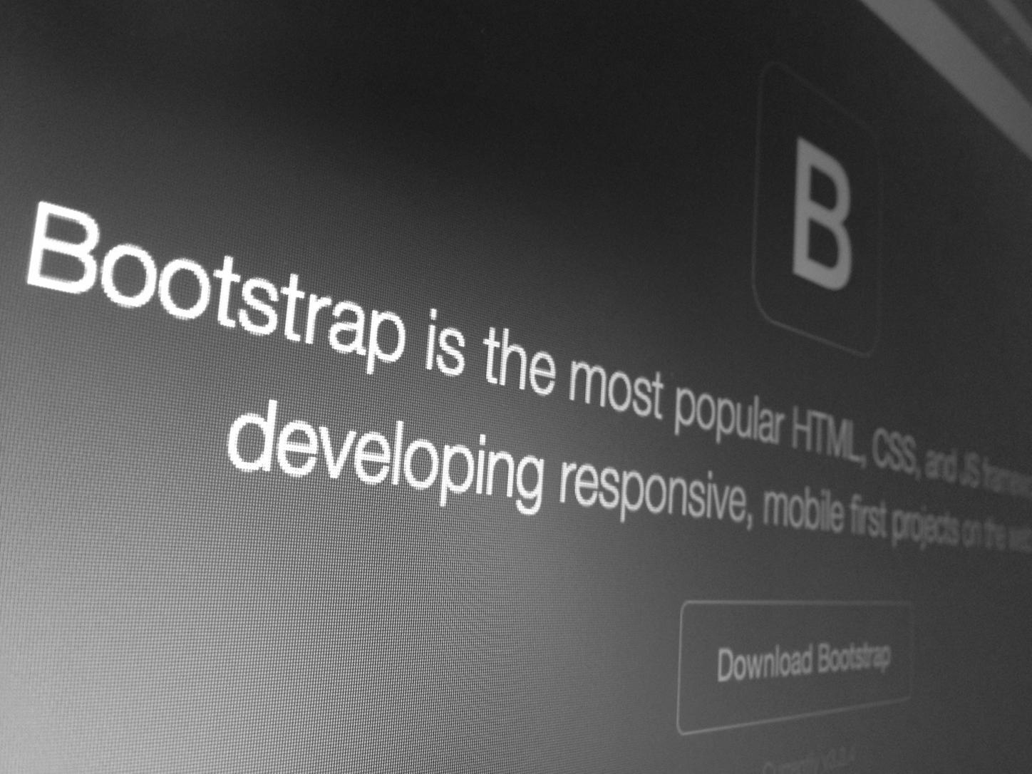 Let's talk about Bootstrap 4