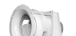 Centrifugal fans for industrial drying systems and other applications