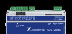 Zonenmaster für maximal 25 Zonenmodule, mit integriertem Webserver und Schnittstellen zu übergeordneten Systemen
