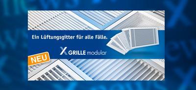 Newsbanner X-GRILLE modular DE
