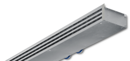 Ventilation and extract ventilation combined in one casing