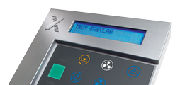 For EASYLAB fume cupboard controllers or room controllers, with text display