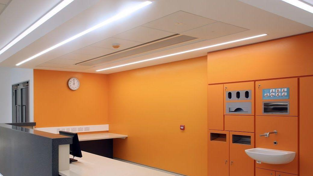 Ulster Hospital TROX chilled beams 1