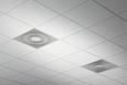 Einbau in T-Profil-Decken, Reihenanordnung