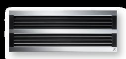 通风格栅采用优质铝型材 – 可适合连续水平运行