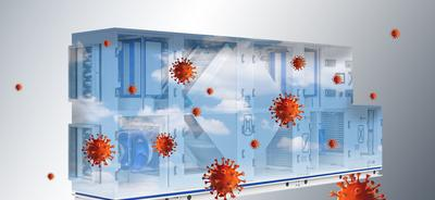 TROX RLT-Gerät und Coronavirus