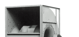 Centrifugal fans for building ventilation and aeration