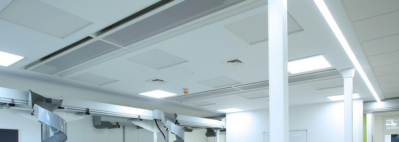 Ulster Hospital TROX chilled beams 3