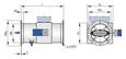 Regelgerät mit Flansch (TVRK-FL, Nenngrößen 125 – 200)...