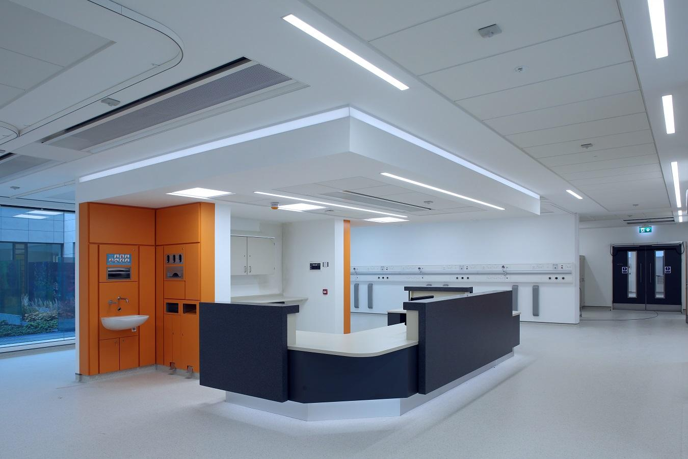 Ulster Hospital TROX chilled beams 4