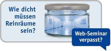 TROX Web-Seminar: Raumdruckregelung für Reinräume