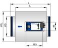 Regelaar met geluiddempende ommanteling (TVE-D)