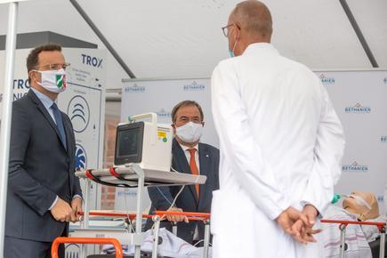 TROX Luftreiniger Bethanien Krankenhaus