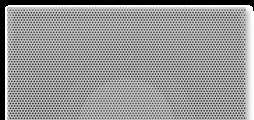 Für ein- bis vierseitige horizontale Luftführung, für Komfortbereiche, mit feststehendem Prallelement