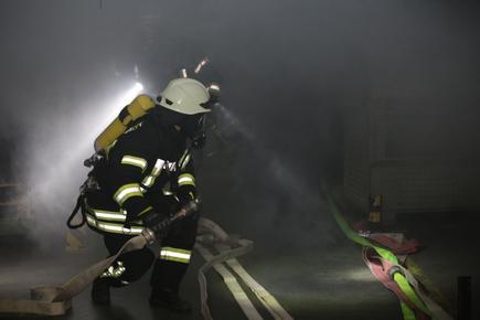 Feuerwehr Feuerwehrmann Rauch