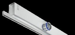 Besonders schmaler Frontdurchlass in zahlreichen Varianten und Luftführungseinstellungen für vielfältige Einbausituationen