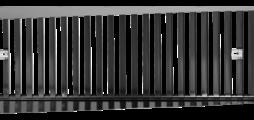 Anbauteile aus Stahlblech zum Volumenstromabgleich von Lüftungsgittern der Serien TRS-K und TRS-R