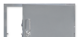 Single and double leaf hinged doors for plant rooms, storage rooms, air handling units, filter chambers, or enclosures for machinery or electrical equipment
