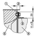 Detail Luftleitungsprofil