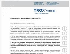 Comunicado Importante - Ref. Covid-19