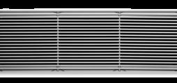 铝制通风格栅,带纵向固定叶片,用于地板送风,也可用于水平送风