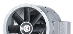 Exhaust air fans for industrial processes