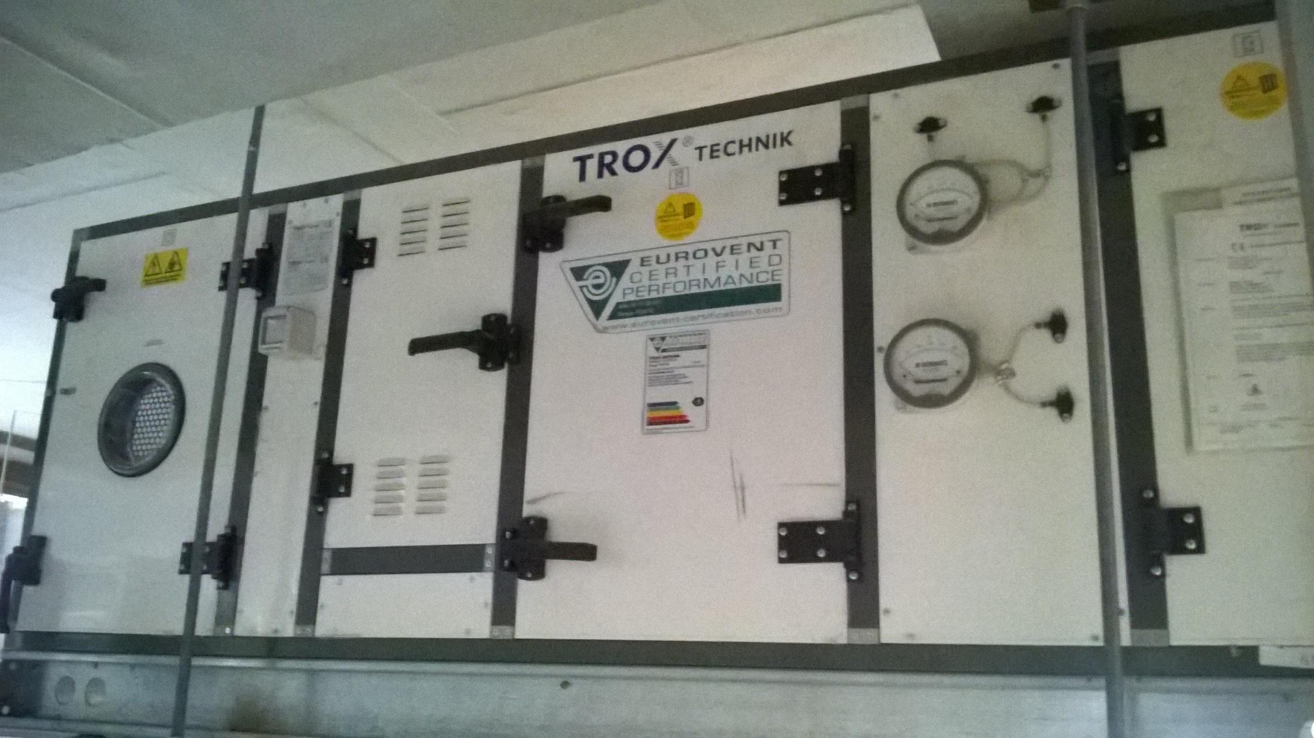 Serie TKM 50 HE de TROX